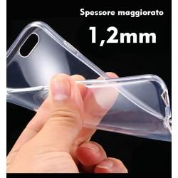 Cover morbida per SONY M4 AQUA  ULTRASOFT2 STILEITALIANO  spessore maggiorato 1,2mm in TPU trasparente