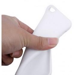 Cover morbida per SONY Z3 COMPACT ULTRASOFT2 STILEITALIANO  spessore maggiorato 1,2mm in TPU BIANCA