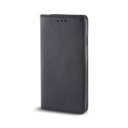 Custodia per LG K10 K430 serie Magnetic Stileitaliano Chiusura Magnetica flip a libro Nero