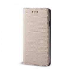 Custodia per LG K10 K430  serie Magnetic Stileitaliano Chiusura Magnetica flip a libro ORO