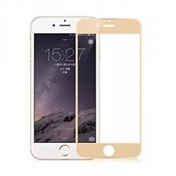 Pellicola Vetro Temperato 3D iPhone 8 - 7 bordi TPU STILEITALIANO ORO