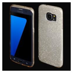 Cover morbida per Samsung S8 PLUS G955 serie GLITTER STILEITALIANO con brillantini ORO