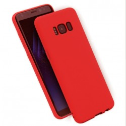 Cover per Samsung S7 EDGE G935 serie Soft-Touch Stileitaliano morbida opaca ROSSA