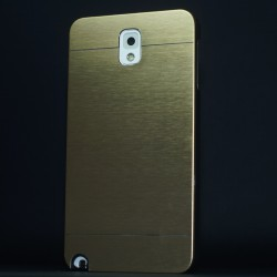 Cover custodia NOTE 3 N9000 ALLUMINIO STILEITALIANO ORO