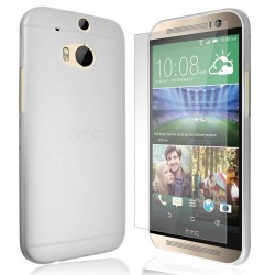 Cover per HTC ONE M8 Ultraslim StileItaliano trasparente