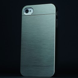 Cover custodia IPHONE 6 plus 5,5 ALLUMINIO STILEITALIANO GRIGIO