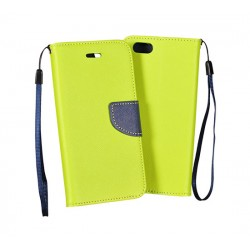 Custodia per HONOR 7 Stileitaliano flip a libro Verde Lime