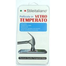 PELLICOLA PER SONY XPERIA M5  STILEITALIANO IN VETRO TEMPERATO INFRANGIBILE ANTIURTO ANTIGRAFFIO