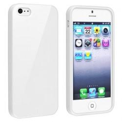 Apple iPod Touch 5 Base3 Cover morbida personalizzata Bianca -