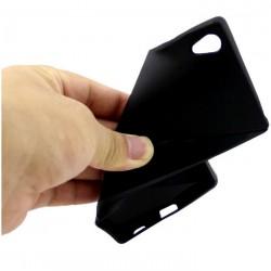 Cover morbida per S4 I9500 SAMSUNG ULTRASOFT2 STILEITALIANO spessore maggiorato 1,2mm in TPU NERO