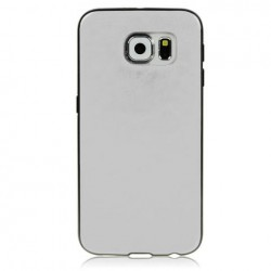 Samsung S4 i9500 Base4 cover Morbida Personalizzata Bordi NERI spessore 1,2mm -