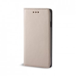 Cover per LG K10 K430  serie Magnetic Stileitaliano® Chiusura Magnetica flip a libro ORO