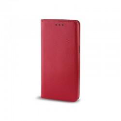 Custodia per LG K8 K350 serie Magnetic Stileitaliano Chiusura Magnetica flip a libro Rossa