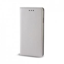 Custodia per LG K8 K350 serie Magnetic Stileitaliano Chiusura Magnetica flip a libro Grigio