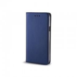 Cover per IPHONE X - XS serie Magnetic Stileitaliano® Chiusura Magnetica flip a libro BLU