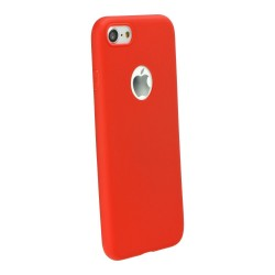 Cover per IPHONE SE 5 5s serie Soft-Touch Stileitaliano morbida opaca Rossa