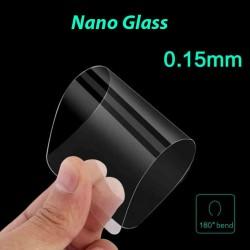 Pellicola per Samsung A8 2018 A530 Stileitaliano VETRO NANO GLASS flessibile Ultrasottile