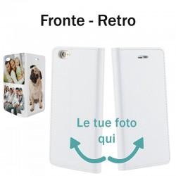 Base5 Huawei P20 Solo Fronte Cover flip sportellino personalizzata  -