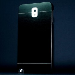 Cover custodia NOTE 3 N9000 ALLUMINIO Stileitaliano® NERO