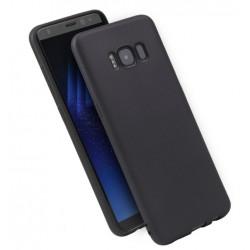 Cover per Samsung J6 2018 J600 serie Soft-Touch Stileitaliano morbida opaca NERA