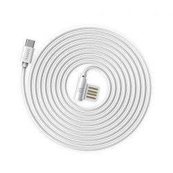 Cavo USB MICRO USB RC-075M 90 GRADI Universale Remax Bianco
