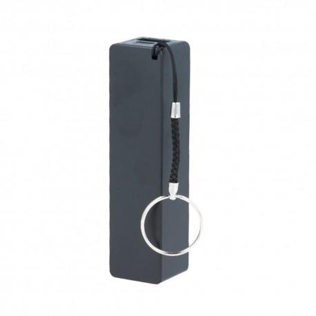 Power Bank 2600 mah 5v 1A USB batteria esterna portatile di emergenza rettangolare  NERO -