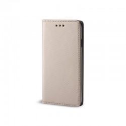 Custodia per Samsung J6 PLUS 2018 J610 serie Magnetic Stileitaliano Chiusura Magnetica flip a libro ORO