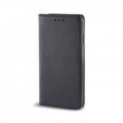 Custodia per Samsung J4 2018 J400 serie Magnetic Stileitaliano Chiusura Magnetica flip a libro Nero