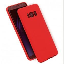 Cover per Samsung A9 2018 A920 serie Soft-Touch Stileitaliano morbida opaca ROSSA