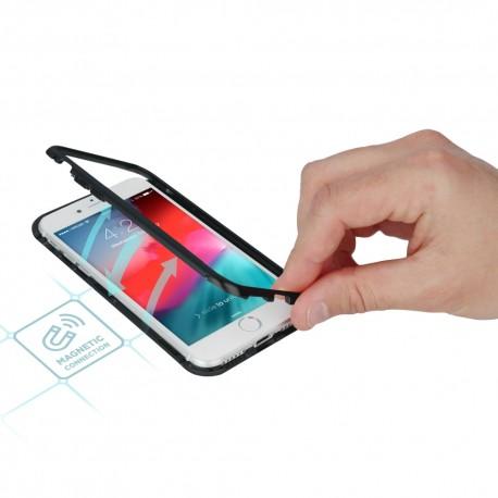 Cover iPhone 6 Plus serie MAGNETO Stileitaliano® in alluminio e vetro  -