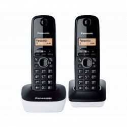 COPPIA CORDLESS PANASONIC KX-TG1612 TWIN PACK