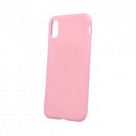 Cover per IPHONE XS MAX serie Soft-Touch Stileitaliano® morbida opaca ROSA -