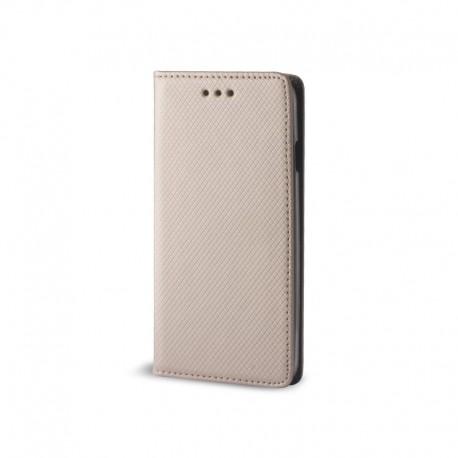Custodia per Huawei  P SMART 2019  - Honor 10 lite serie Magnetic Stileitaliano® Chiusura Magnetica flip a libro Oro -