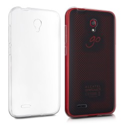 Cover Morbida per Alcatel Go Play Serie ULTRASOFT Stileitaliano in silicone TPU sottile Trasparente