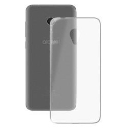Cover Morbida per Alcatel 1C dual sim senza sensore Serie ULTRASOFT Stileitaliano in silicone TPU sottile Trasparente