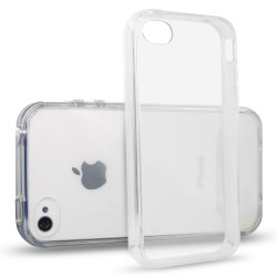 Cover Morbida per  iPhone 4 – 4S Serie ULTRASOFT Stileitaliano in silicone TPU sottile Trasparente