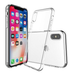 Cover Morbida per iPhone XS Max Serie ULTRASOFT Stileitaliano in silicone TPU sottile Trasparente