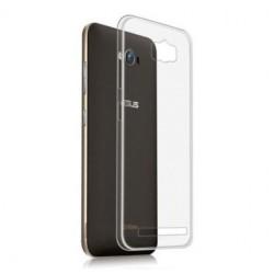 Cover Morbida per Asus Zenfone MAX 5,5 ZC550KL Serie ULTRASOFT Stileitaliano in silicone TPU sottile Trasparente