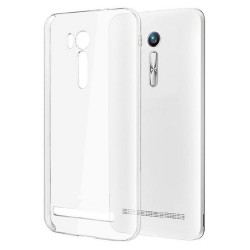 Cover Morbida per Zenfone Go ZB500KL Asus Serie ULTRASOFT Stileitaliano® in TPU Trasparente