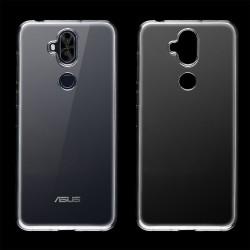 Cover Morbida per Asus Zenfone 5 Lite ZC600KL Serie ULTRASOFT Stileitaliano in silicone TPU sottile Trasparente