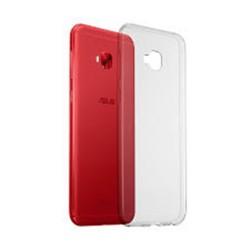 Cover Morbida per Asus Zenfone Selfie 4 Pro ZD552KL Serie ULTRASOFT Stileitaliano in silicone TPU sottile Trasparente
