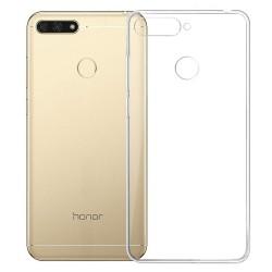 Cover Morbida per Huawei Y6 Prime 2018 - Honor 7A - 7a Pro Serie ULTRASOFT Stileitaliano in silicone TPU sottile Trasparente