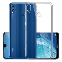 Cover Morbida per Huawei View 10 Lite  - Honor 8X Serie ULTRASOFT Stileitaliano in silicone TPU sottile Trasparente