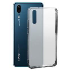 Cover Morbida per Huawei P20 Serie ULTRASOFT Stileitaliano in silicone TPU sottile Trasparente