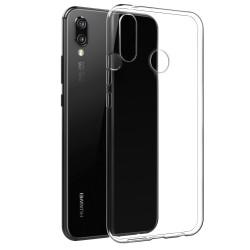 Cover Morbida per Huawei P20 Lite Serie ULTRASOFT Stileitaliano in silicone TPU sottile Trasparente
