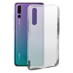 Cover Morbida per Huawei P20 Pro Serie ULTRASOFT Stileitaliano in silicone TPU sottile Trasparente