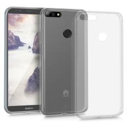 Cover Morbida per Huawei Y7 2018 - Y7 Prime 2018 Serie ULTRASOFT Stileitaliano in silicone TPU sottile Trasparente