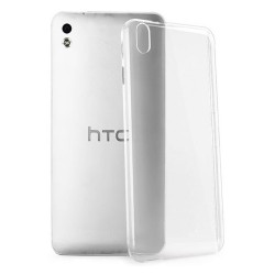 Cover Morbida per  HTC DESIRE 816 Serie ULTRASOFT Stileitaliano in silicone TPU sottile Trasparente