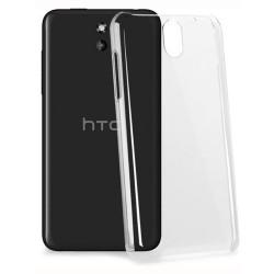 Cover Morbida per  HTC DESIRE 610 Serie ULTRASOFT Stileitaliano in silicone TPU sottile Trasparente