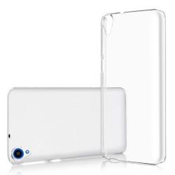 Cover Morbida per  HTC DESIRE 820 Serie ULTRASOFT Stileitaliano® in TPU Trasparente
